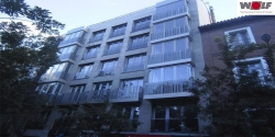 rehabilitación energética edificio Zurich en Madrid