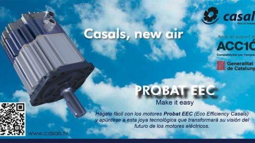 Motor de imanes permanentes brushless PROBAT EEC