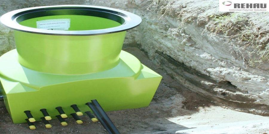 Arqueta RAUGEO mediana para instalaciones de geotermia