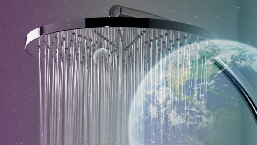 duchas espaciales
