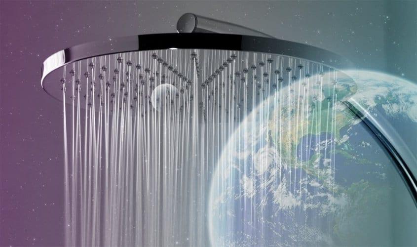 Orbsys: duchas espaciales para edificios terrestres