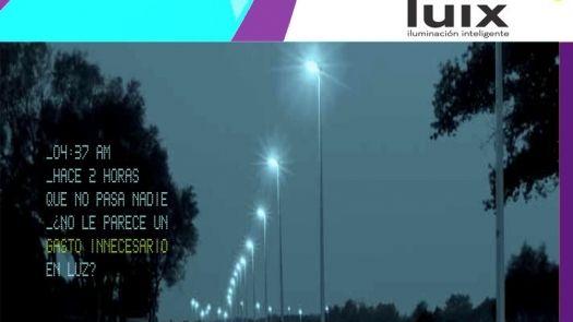 Luix reinventa el alumbrado público