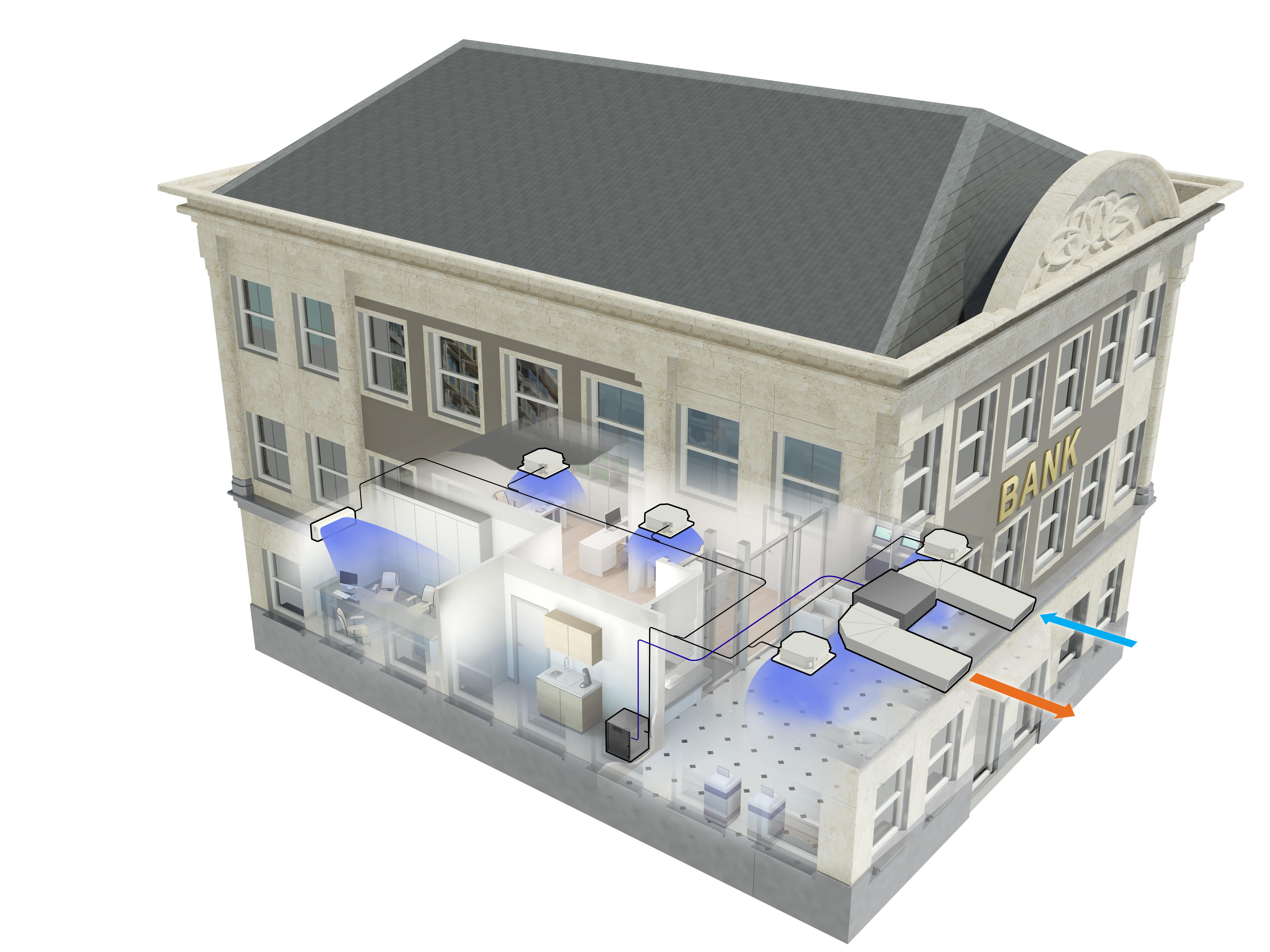 Vrv indoor de daikin la climatizaci n invisible e ficiencia for Aire acondicionado aparato exterior