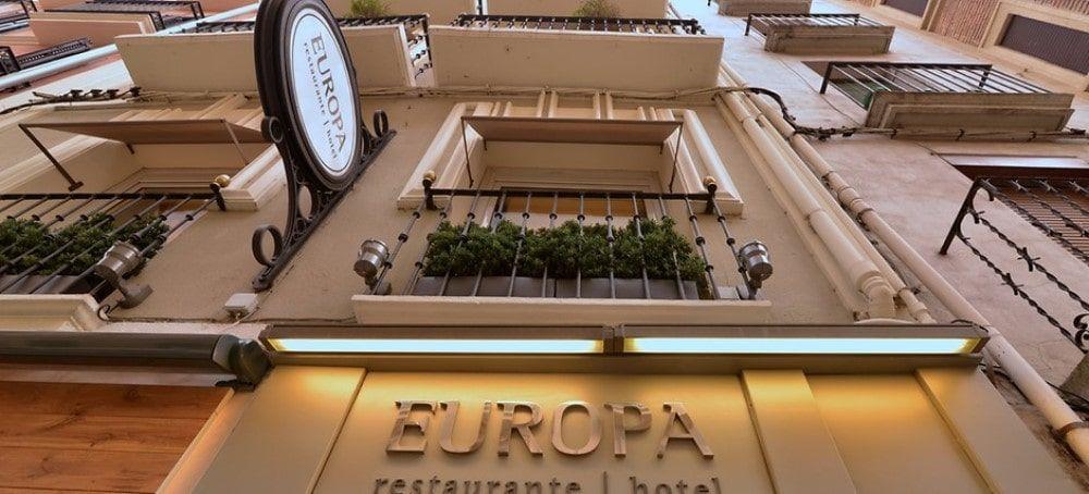 Aislamiento acústico y eficiencia energética en el hotel Europa de Pamplona