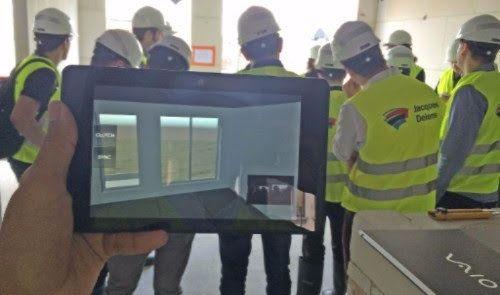 SMART GLASSES para mejorar la construcción
