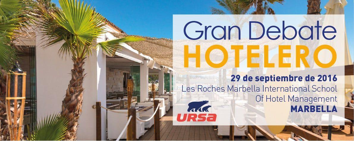 URSA patrocina el Gran Debate Hotelero en la Costa del Sol