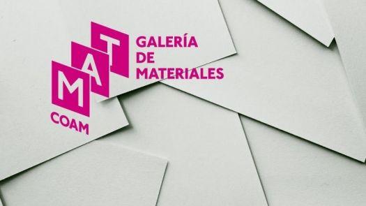 URSA en la inauguración de la nueva galería de materiales del COAM