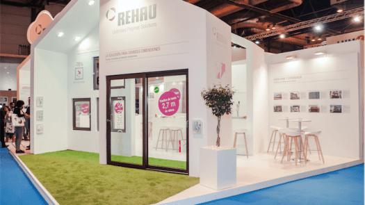 Gran éxito de Rehau en la presentación de sus novedades en Veteco