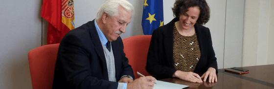 AVEBIOM y la Oficina Española de Cambio Climático suscriben el contrato