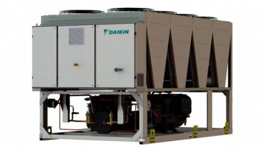 Daikin presenta sus nuevas Unidades Enfriadoras Aire-Agua Inverter EWAD-TZB