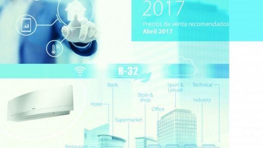 Daikin presenta sus nueva Tarifa 2017