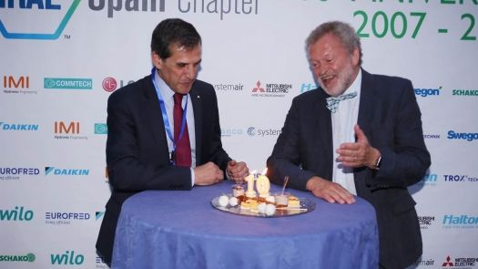 El Ashrae Spain Chapter celebró con éxito su 10º aniversario .