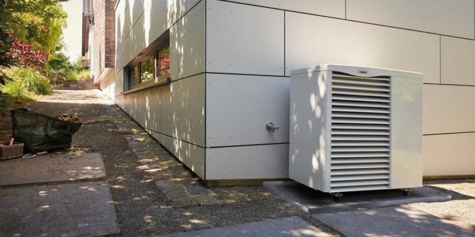 bomba de calor aerotermica climatización
