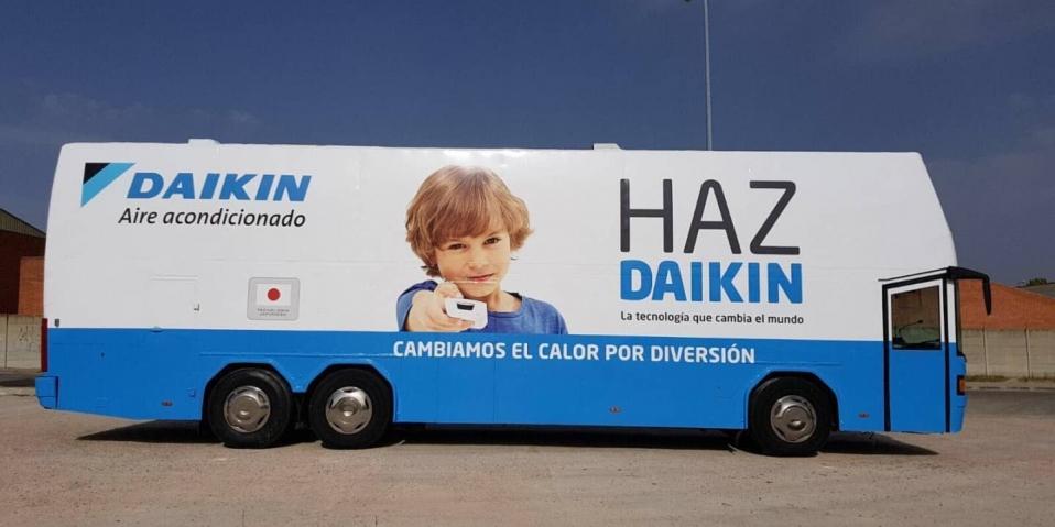 Daikin cambia calor por diversión
