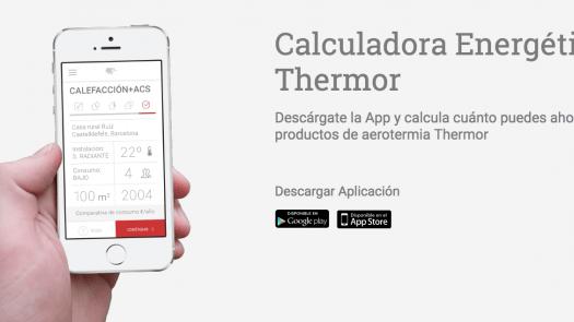 Thermor actualiza su app de cálculo energético para instalaciones de aerotermia