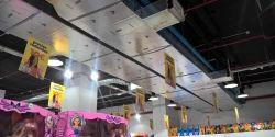 Conductos URSA AIR en el nuevo Centro Comercial SAMBIL (Madrid)
