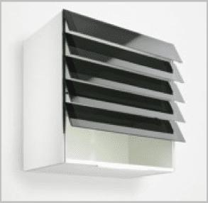 persianas de vidrio