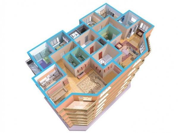 una solución Knauf para cada espacio y necesidad