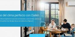 Daikin estrena página web con un nuevo aire