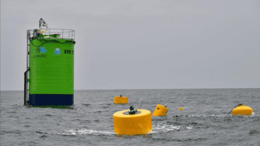El captador de energía de las olas de BiMEP primer año de producción