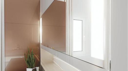 RAUVSIO Crystal Mirror el laminado con efecto espejo