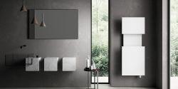 El radiador toallero M´AMA calma, pureza y sencillez