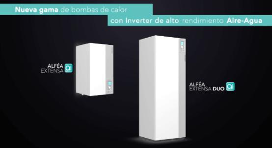 bomba_calor_Alféa - Nuevas bombas de calor Alféa Ai