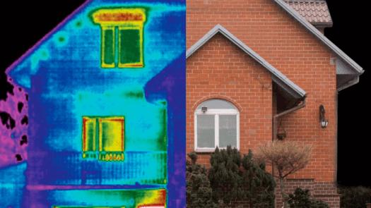 Diagnóstico por termografía para mejorar el aislamiento de las viviendas