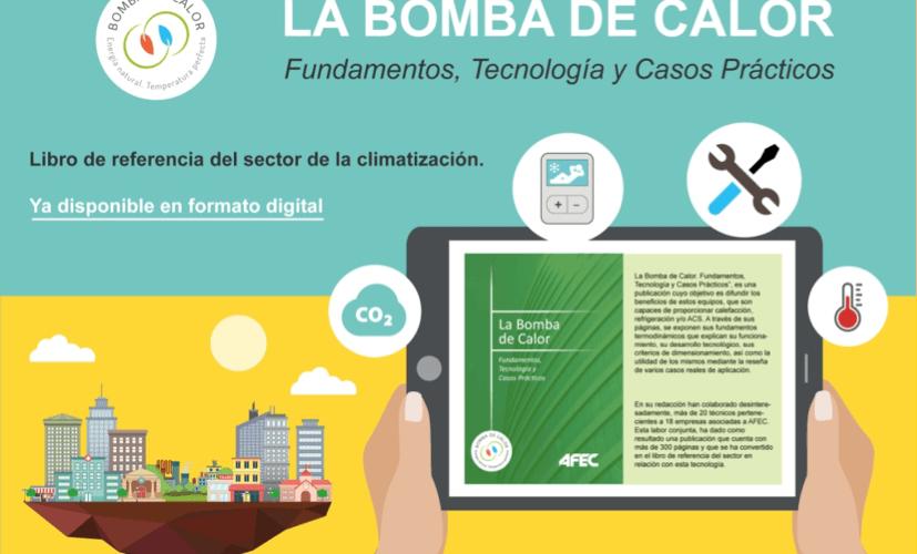 El libro sobre la Bomba de Calor, ya está disponible en digital