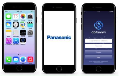 Panasonic_app - Datanavi,  nueva app de Panasonic que conecta los sistemas de climatización con el smartphone