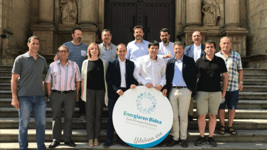 El Ente Vasco de la Energía reconoce el compromiso con la Transición Energética de los ayuntamientos