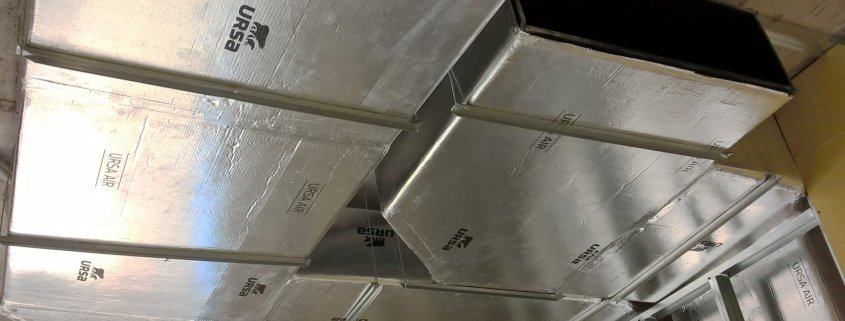Rehabilitación conductos de ventilación de centros educativos - Tres centros educativos rehabilitan sus conductos de ventilación