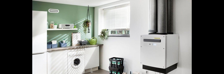 Ventilación mecánica controlada con equipos eficientes e inteligentes de Fränkische
