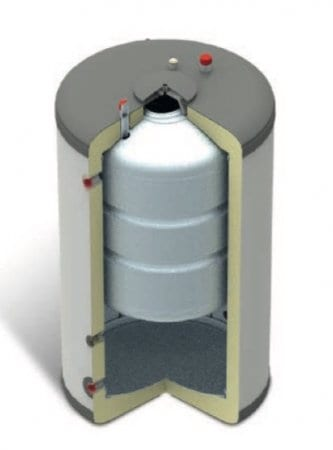 bomba de calor aire-agua