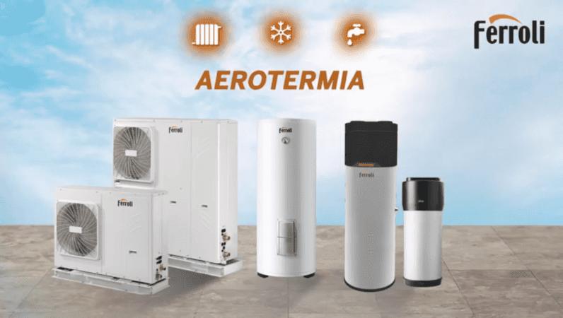 gama de aerotermia de Ferroli