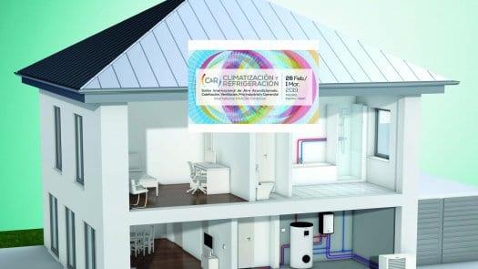 La bomba de calor, eje central del stand de Vaillant en Climatización & Refrigeración 2019