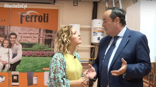 """Reportaje Ferroli en el programa de TV  """"Hecho en Castilla y León"""""""
