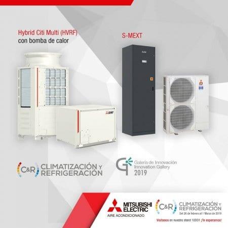 Novedades Mitsubishi Electric climatización