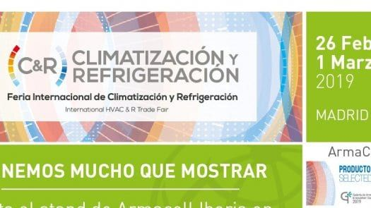 Las soluciones de aislamiento de instalaciones de Armacell Iberia, protagonistas en C&R 2019