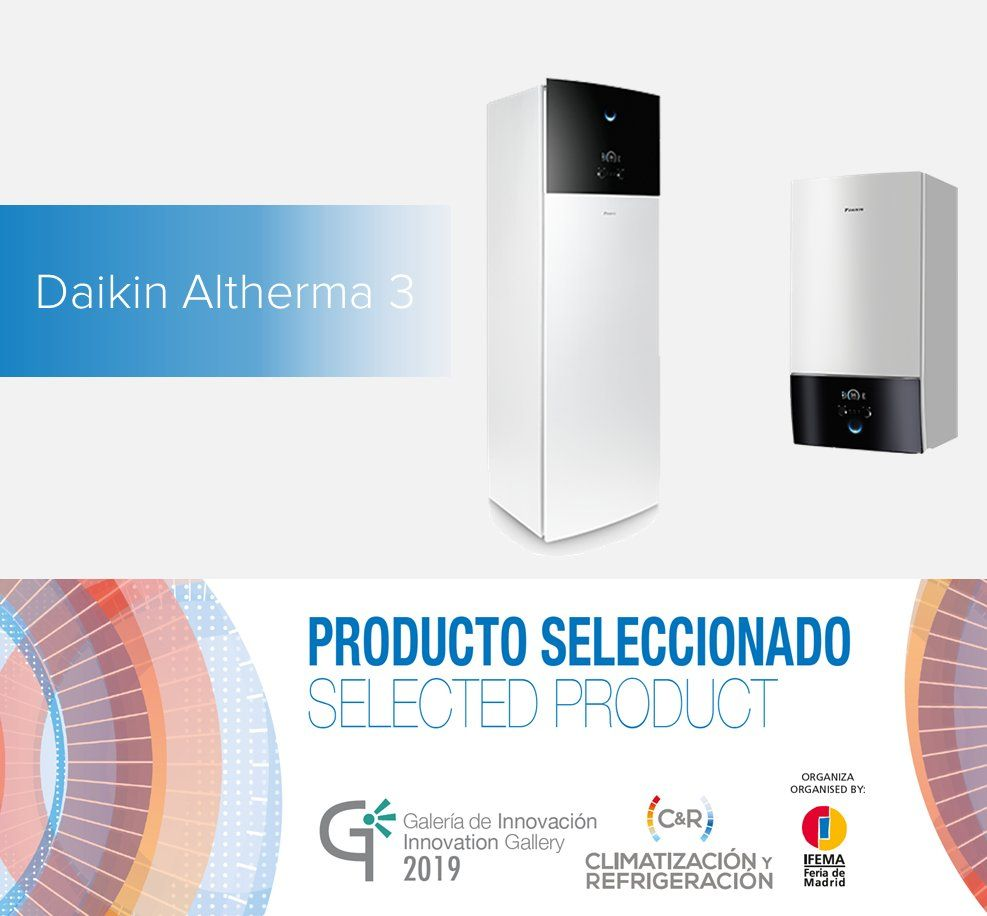 Daikin presenta sus novedades en la Feria de Climatización y Refrigeración 2019