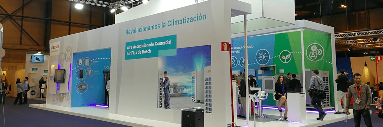 Bosch presenta novedades en la Feria de Climatización y Refrigeración