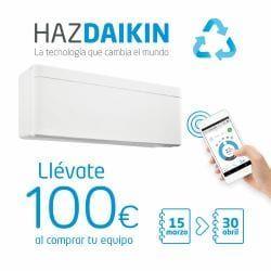 Daikin_100 €_Destacado_Aire Acondicionado_marzo_2019