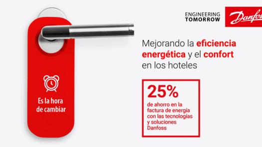 Danfoss impulsa el ahorro energético en los hoteles