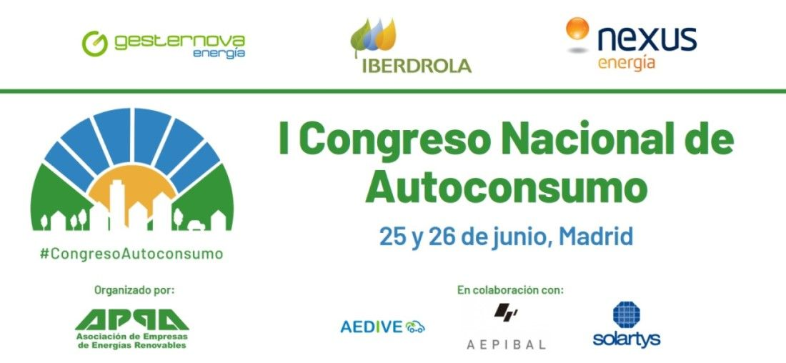 I Congreso Nacional de Autoconsumo organizado por APPA Renovables