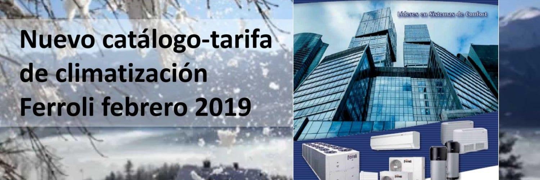 FERROLI presenta su nueva tarifa de precios de aerotermia para calefacción y ACS