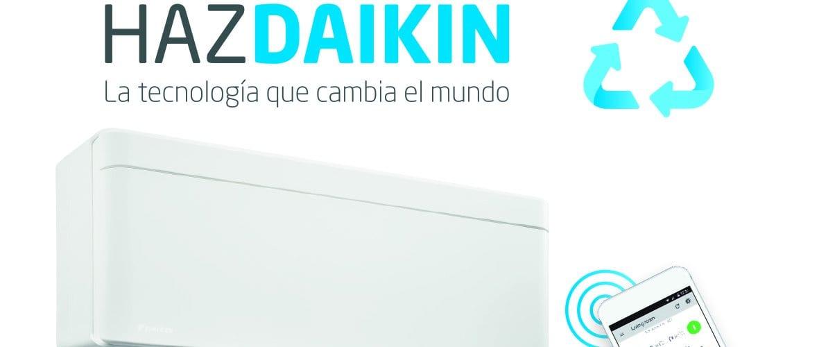 Llévate 100€ al adquirir un equipo de climatización Daikin esta primavera