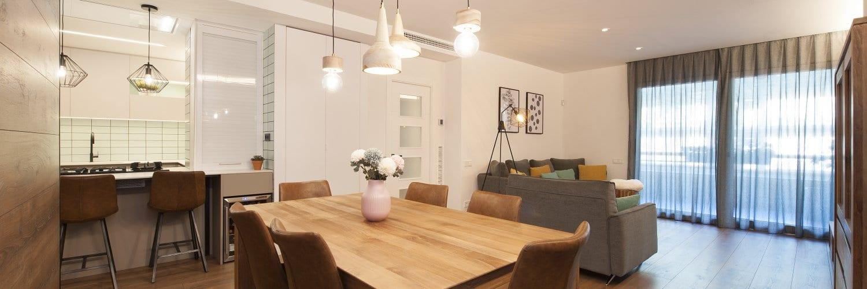 Climatización zonificada Flexa 3.0 de Airzone en la reforma de una vivienda en Barcelona