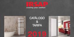 IRSAP presenta sus novedades en radiadores decorativos en el catálogo 2019