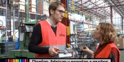 """La fábrica del Grupo Ferroli acoge el programa de Tv """"Hecho en Castilla y León"""""""