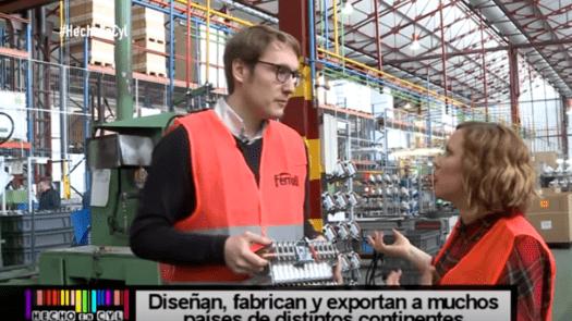 La fábrica del Grupo Ferroli acoge el programa de Tv